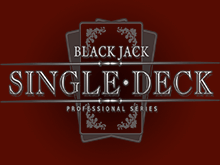Играть онлайн в Single Deck Blackjack Professional Series от Нетент