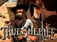 Автомат с бонусами True Sheriff на деньги
