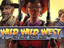 Играть в автомат Wild Wild West: The Great Train Heist на деньги